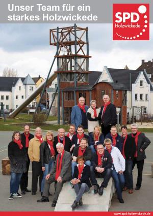 Broschüre SPD Holzwickede zur Kommunalwahl 2014