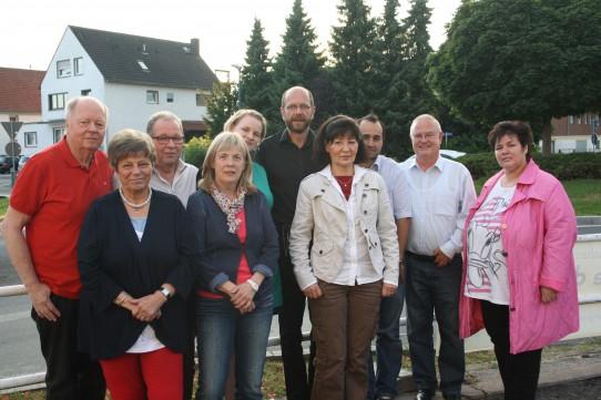 Der am 25.06.2014 neu gewählte Vorstand des OV Holzwickede.