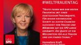 Hannelore Kraft zum Weltfrauentag